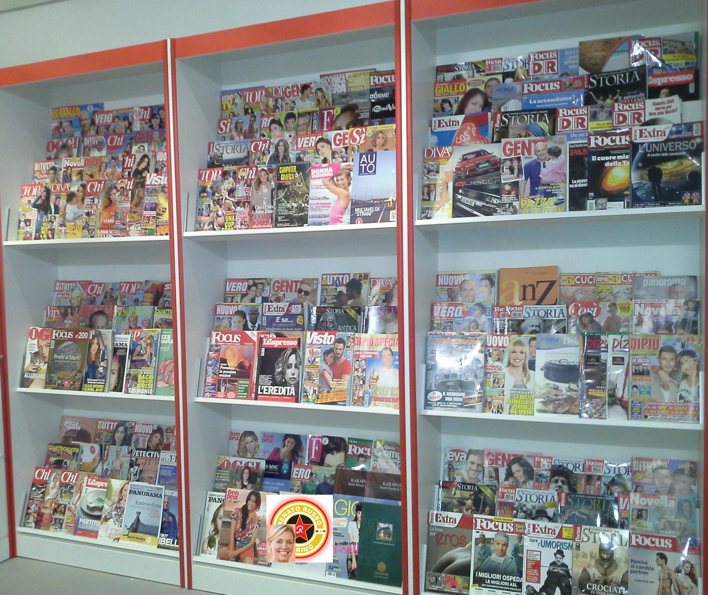 ... per giornali, Espositori per edicole, Scaffali per giornali, mobili